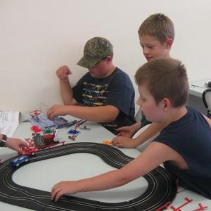 Low voltage fun!! Race track fun!!