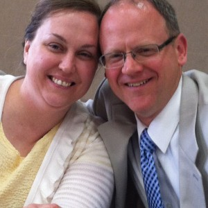 Pastor Andrew Grate and his wife Rhonda