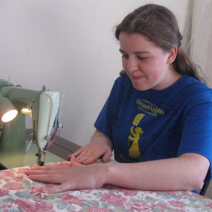 Basic sewing instruction...